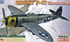Minicraft - P-47D 47 D USAAF 2 Options 354FG / 405FG 1944 modèle-kit 1:144