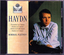 Mikhail Pletnev: HAYDN Piano Sonata 20 50 52 variations Sonaten VIRGIN CD 1989