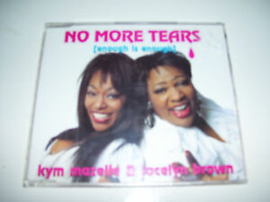 KYM MAZELLE & JOCELYN BROWN - NO MORE TEARS  4tr.CDM