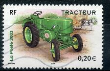 TIMBRE FRANCE OBLITERE N° 3610 TRACTEUR / Photo non contractuelle