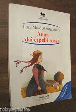 ANNA DAI CAPELLI ROSSI Bompiani per la scuola Lucy Maud Montgomery Samarcanda