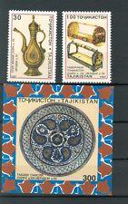 ARTE ANTICA - ART TAJIKISTAN 1998 set+block
