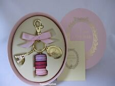 LADUREE Key Chain Macarons Effiel Tower Rose Round Type for Gift New