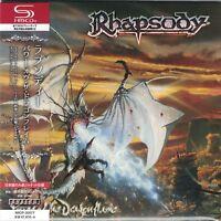 RHAPSODY - Power Of The Dragonflame Japan Mini LP SHM-CD Luca Turilli