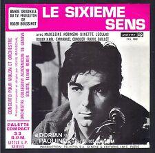 LE SIXIEME SENS TRES RARE BO FEUILLETON TELE 45T TV Original 1970 QUASI NEUF