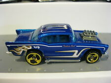 Hot Wheels Mint Loose 57 Chevy blue tinted window Multi Pack Exclusive HTF 1/64