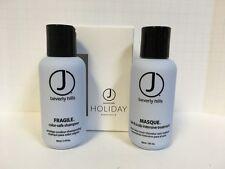 J Beverly Hills Fragile Shampoo & Intensive Masque Mask - 3oz DUO!