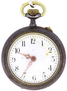 Antike Taschenuhr Pocketwatch Antique #002