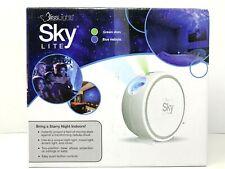 Blisslights Sky Lite Laser Projector w/ LED Blue Nebula Cloud & Green Stars