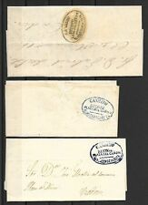 1848-1850-1858. SANLUCAR DE BARRAMEDA A CADIZ. COSARIOS