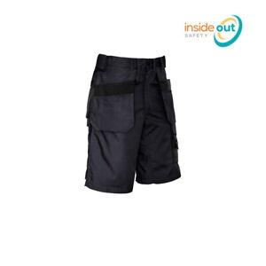 Syzmik Workwear Mens Ultralite Multi-Pocket Cargo Shorts ZS510