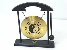 Yin Yang Zen Gong Table Feng Shui Meditation Desk Bell Home Office Decor Gift