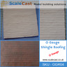 O gauge Model Railway Shingle ROOF Mould 7mm Scale - OGR04 - NEW RELEASE