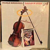 "MERLE HAGGARD - Rainbow Stew Live (MCA-5216) - 12"" Vinyl Record LP - EX"