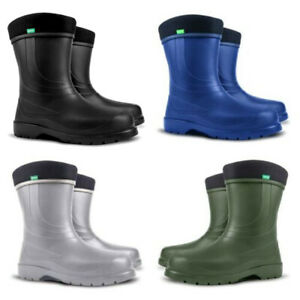 New Ladies Thermal -30 C LIGHTWEIGHT EVA Wellies Wellingtons Rain Boots Womens