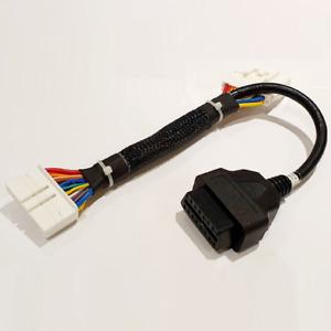 Tesla Model 3 Diagnostic Port Adaptor Cable OBD-II Post Jan 2019 Model 3