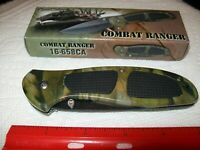"""NEW FROST CUTLERY COMBAT RANGER FOLDING KNIFE~8 1/2"""" OVERALL"""