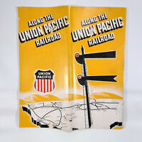 1947 Along the Union Pacific Railroad Travel Brochure History Railway Photos UP
