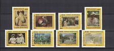 Panama 1984 Minr 1585 - 1592 ** / mnh Kunst paintings Gemälde art