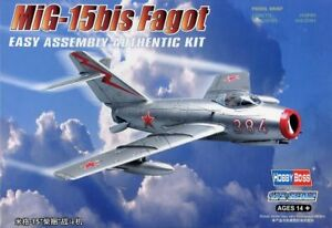 HOBBYBOSS 80263 1/72 SOVIET MIG-15BIS FAGOT PLASTIC FIGHTER MODEL KIT