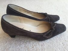 GABOR SHOES SIZE 6 39 BROWN SUEDE COURT SHOES VERY GOOD CONDITION