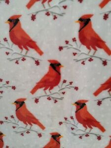 """Berkshire Blanket & Home Co. 50""""x 60"""" Fleece Throw Blanket Cardinal"""