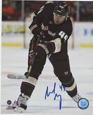 SHELDON SOURAY ANAHEIM DUCKS SIGNED 8x10 PHOTO w/ COA