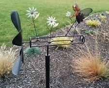 Garden Fairy Whirligig Angel Wind Spinner Yard Stake