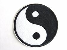 1 PIECE YIN AND YANG EMBROIDERED IRON ON PATCH HOT SALE NEW, TAIJI symbol