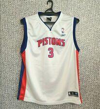Ben Wallace Detroit Pistons #3 NBA BASKETBALL JERSEY YOUTH Size XL / Mens Size S