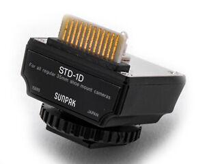 (ax) Sunpak Interface Flash Module f/Hasselblad 500ELX, 503CX, 553ELX in box