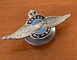 EARLY ROYAL AERO CLUB SOUTH AUSTRALIA LAPEL BADGE #1150