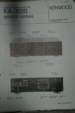Service Manual für Kenwood KA-3020