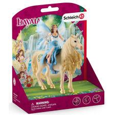 Schleich 42508 Bayala Eyela Riding on Golden Unicorn Figure