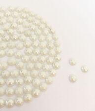 Diamante Me Ivory Pearl Ceramic Hotfix/Iron On/Glue On Rhinestones size 3,4,5,6
