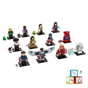 LEGO Marvel Studios 71031 Packets Opened To Identify Complete Set 12 New