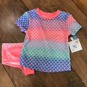 NWT Girls O'rageous Strawberry Punch Sparkling Tankini, Size 10