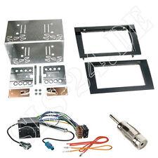 Seat Exeo 3R/3N Doppel-DIN Autoradio Radioblende ISO Quadlock Adapterkabel Set