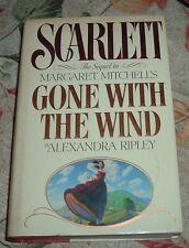 1991 SCARLETT Alexandra Ripley Sequel Margaret Mitchell Gone With The Wind HC/DJ