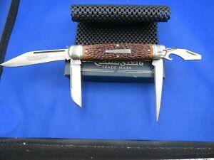 Remington R4243 Bullet Knife Master Camper 1994 W/Original Packaging, Paperwork