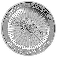 2019-P $1 Silver Australian Kangaroo 1 oz Brilliant Uncirculated