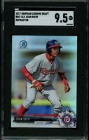 JUAN SOTO 2017 Bowman Chrome Draft Refractor #BDC-162 RC Rookie SGC 9.5 MT+