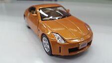 "New 5"" Kinsmart Nissan 350Z 1:34 diecast model toy car fairlady KT5061D Orange"