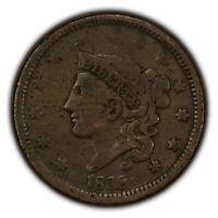 1838 1c Coronet Head Large Cent SKU-Y2627