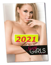 Adult CALENDAR HOT Sexy Crazy Girls 2021 Seductive Women Female Month PinUp Wall