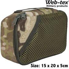 Web-Tex Army Small Stash Bag Utility Pocket Hiking Travel Genuine Multicam Camo