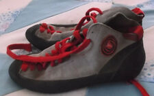 Vintage BOREAL Fire High Top Rock Climbing Shoes Men's Size 7 Made in Spain