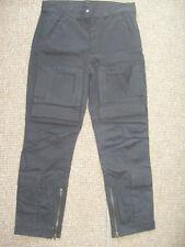 Pantalones de hombre cargo negro