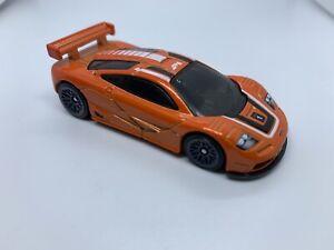 Hot Wheels - McLaren F1 GTR Orange - MINT LOOSE - Diecast - 1:64