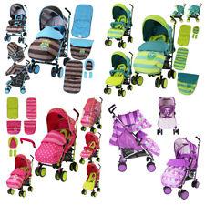 iSafe Baby Stroller Buggy Pram Pushchair Lightweight  + Raincover + Footmuff